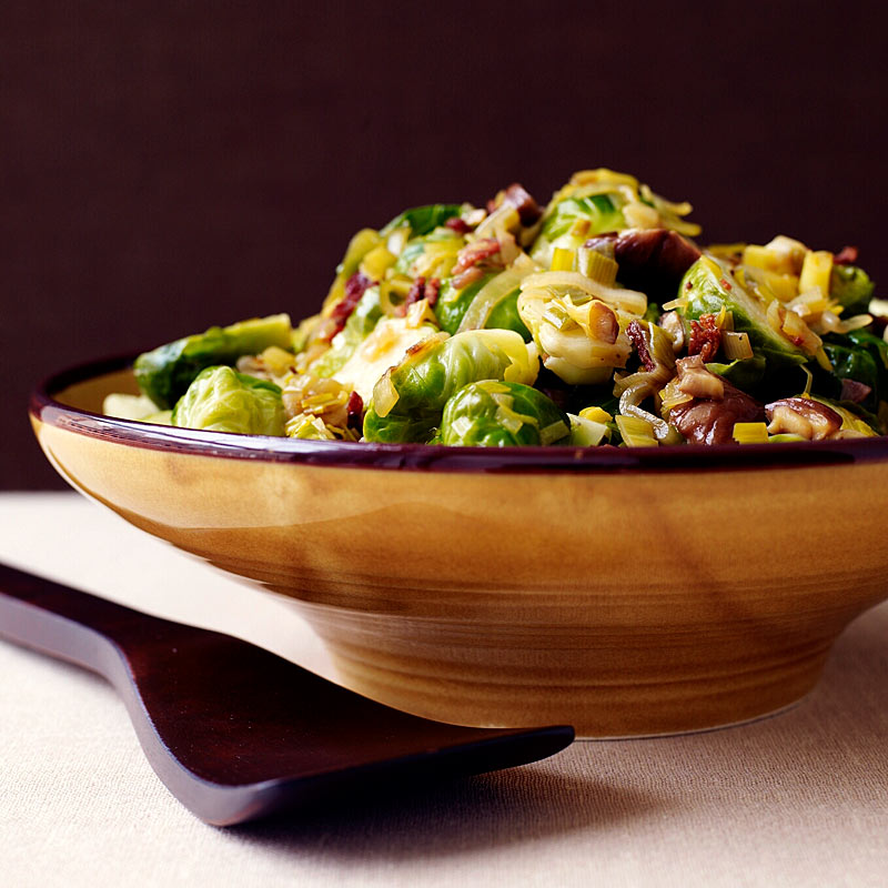 Photo of Brussels Sprouts with Chestnuts by WW