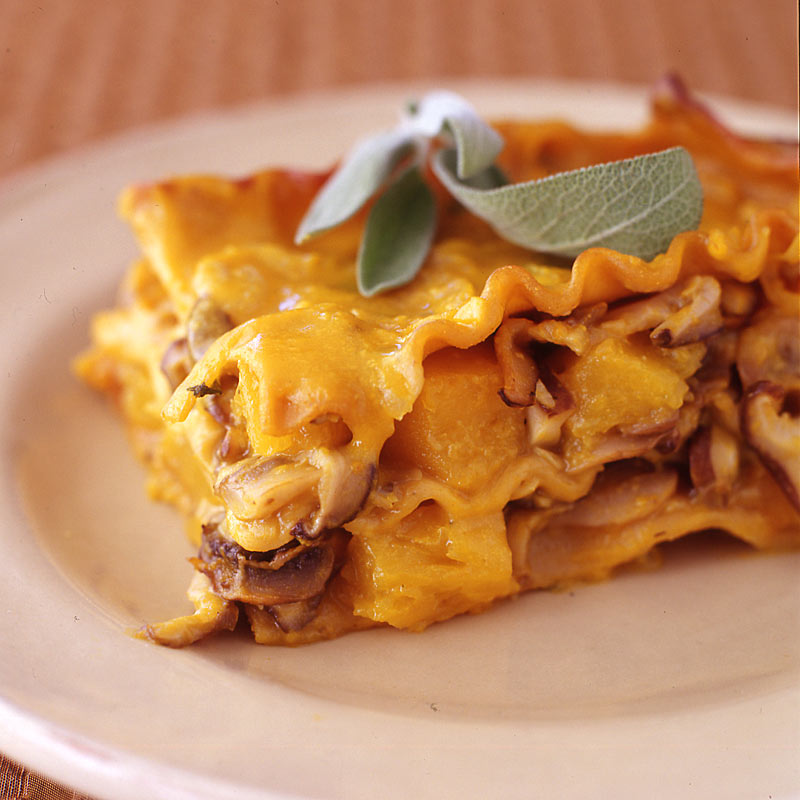 Photo of Butternut squash, sage and mushroom lasagna by WW