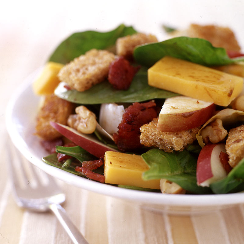 Photo of Cheddar, Apple and Walnut Salad by WW