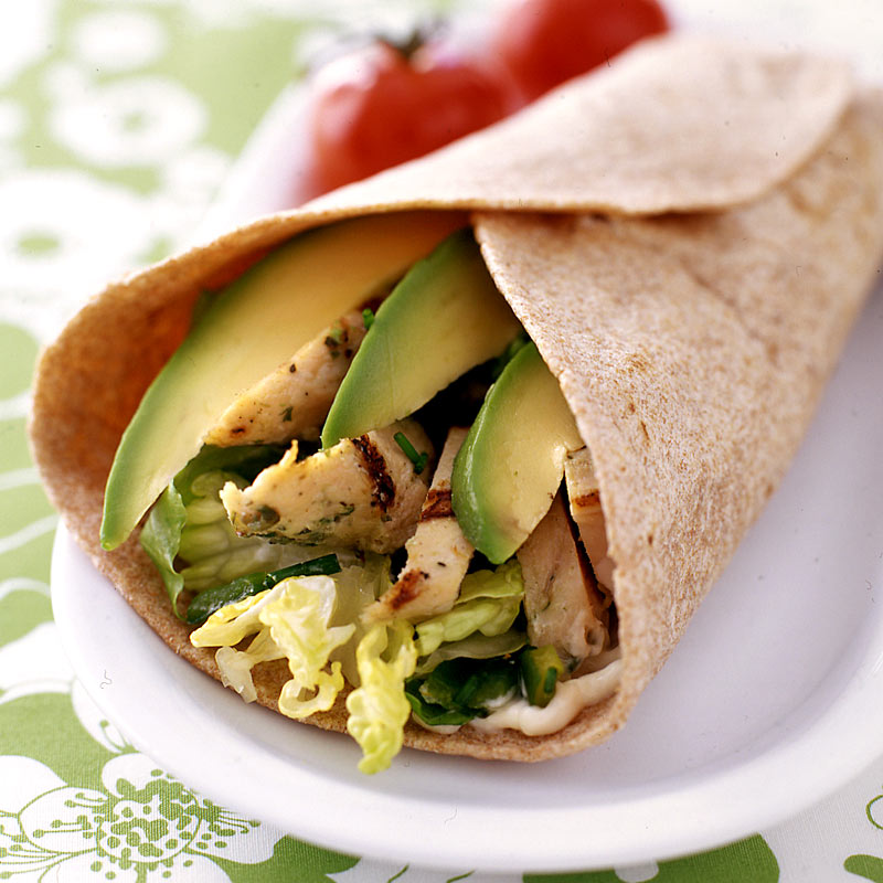 Photo of Chicken and chile wraps by WW