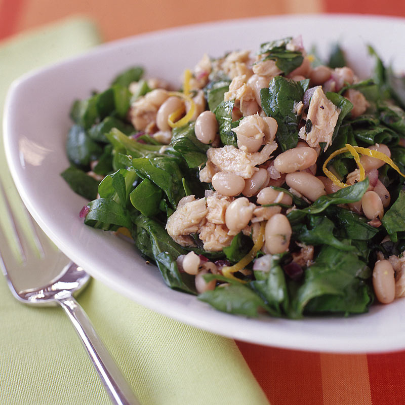 Photo of White bean, citrus, and salmon salad by WW