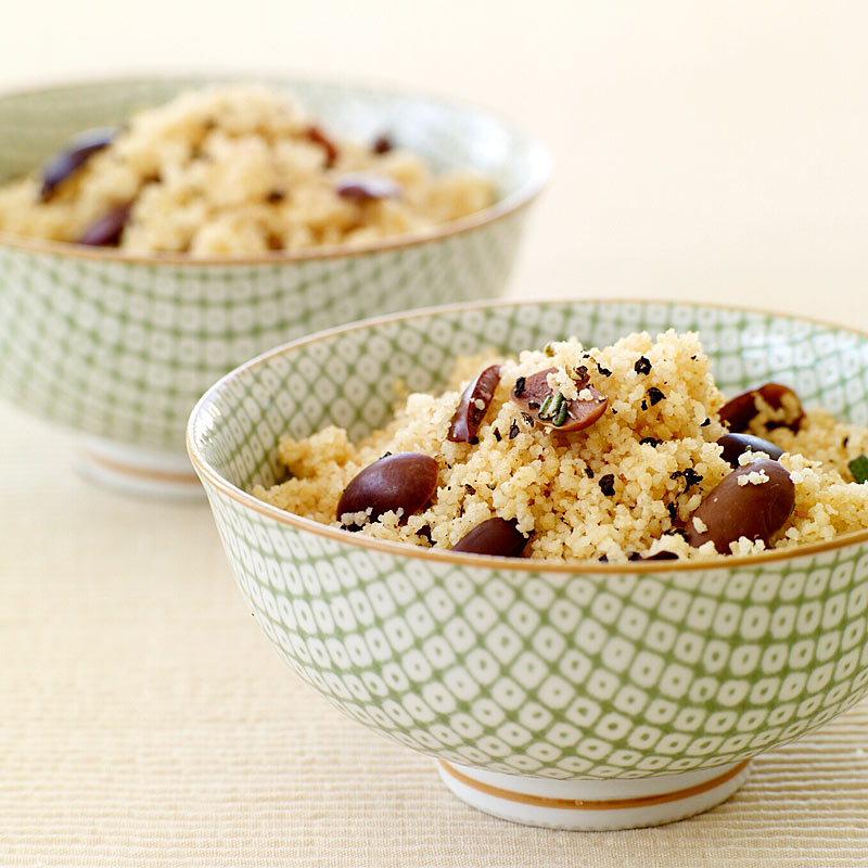 Photo of Couscous with rosemary and olives by WW