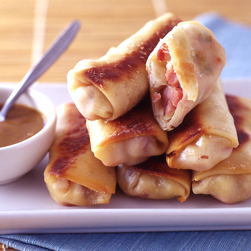 Photo of Croque monsieur egg rolls by WW