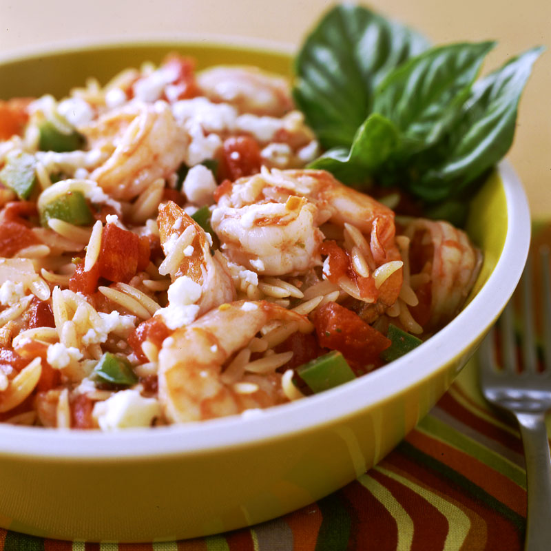 Photo of Greek shrimp with orzo by WW