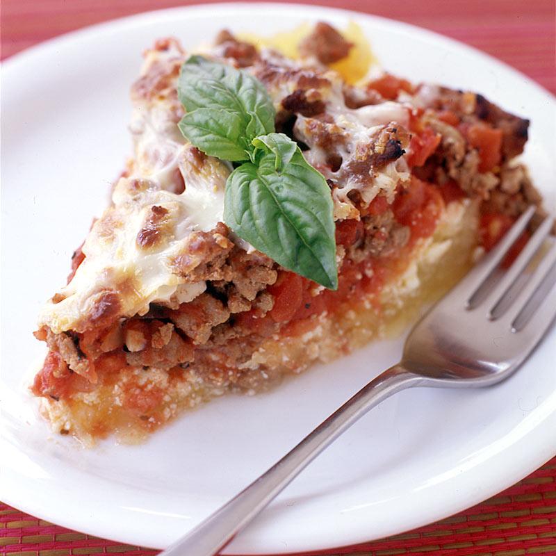 Photo of Italian turkey and spaghetti squash pie by WW