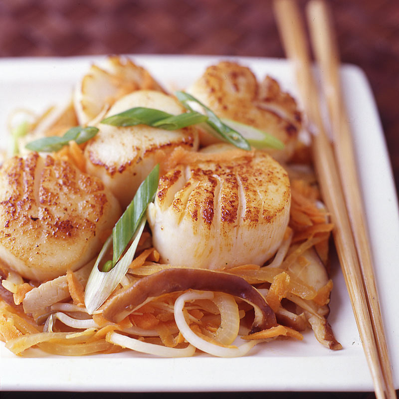 Photo of Japanese steakhouse scallops by WW
