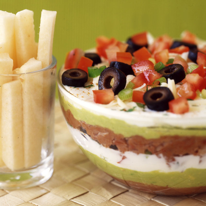 Photo of Layered Mexican bean dip by WW
