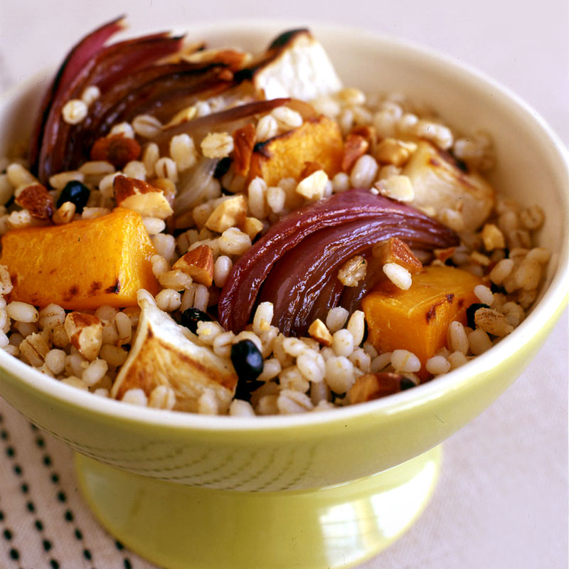 Photo of Barley and Roasted Vegetable Pilaf by WW