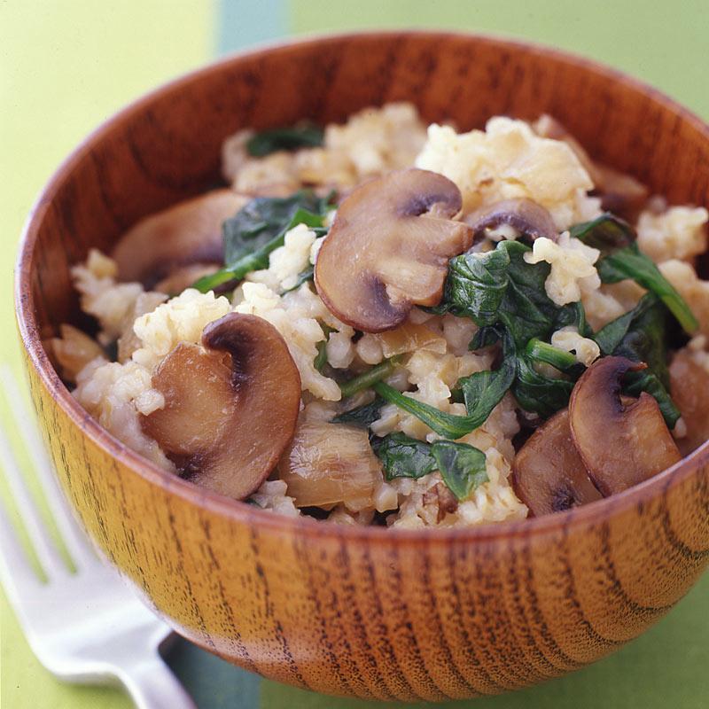 Photo of Caramelized Onion, Mushroom and Bulgur Pilaf by WW