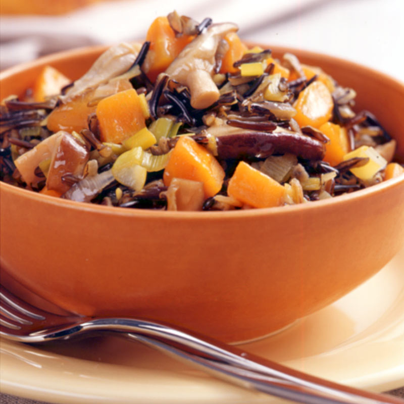 Photo of Mushroom and wild rice slow-cooker stew by WW