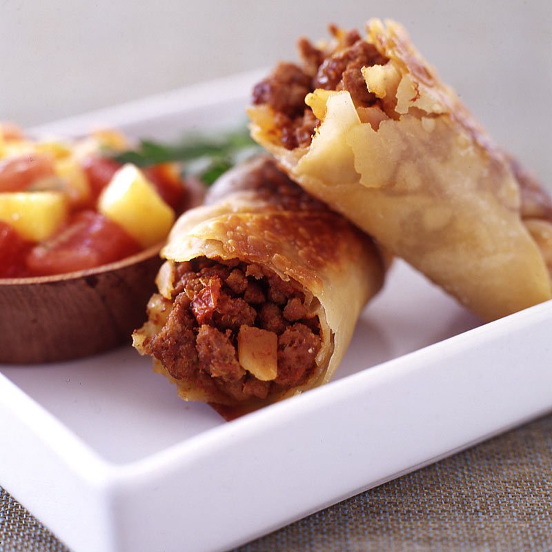 Photo of Picadillo egg rolls by WW