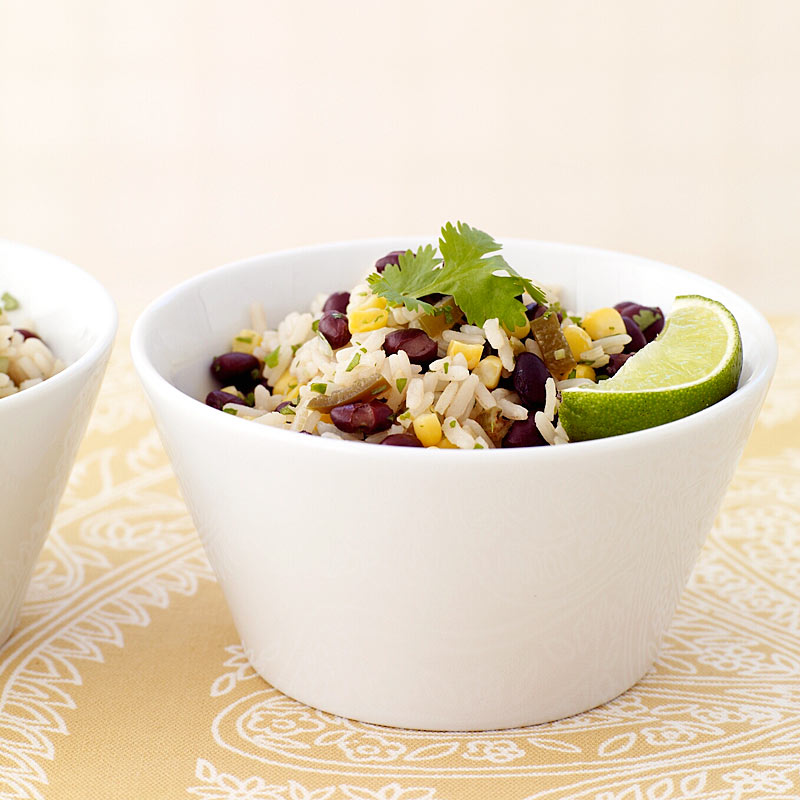 Photo of Brown Rice Salad with Black Beans and Corn by WW
