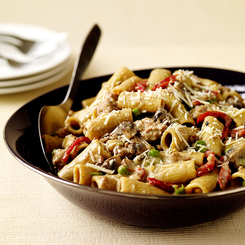 Photo of Rigatoni with creamy sausage sauce by WW
