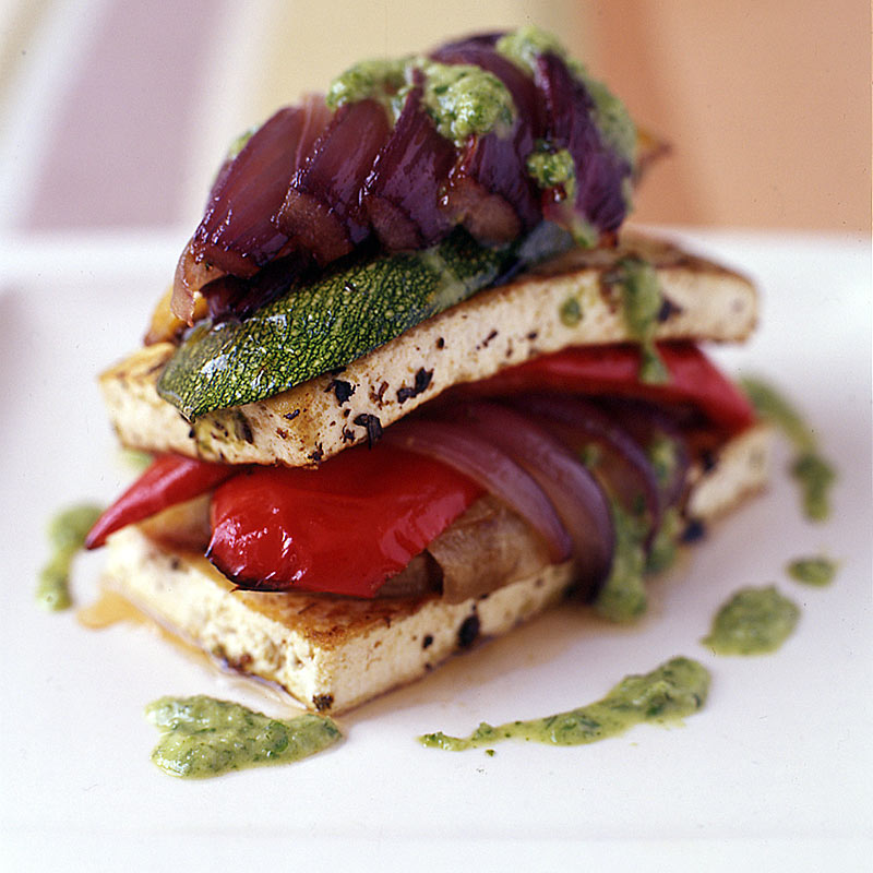 Photo of Roasted vegetable and tofu napoleon by WW