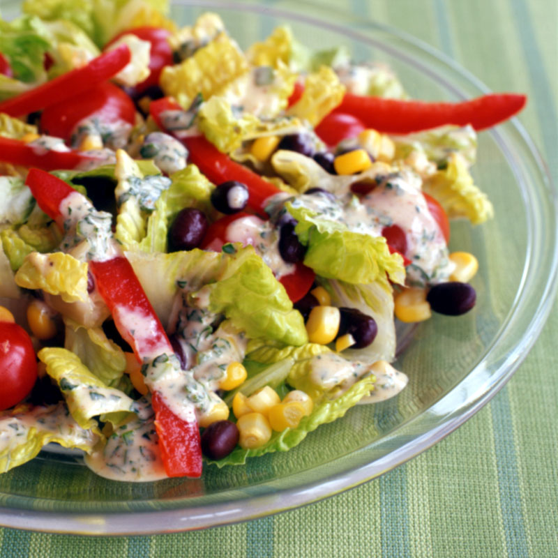 Photo of Santa Fe Salad with Chili-Lime Dressing by WW