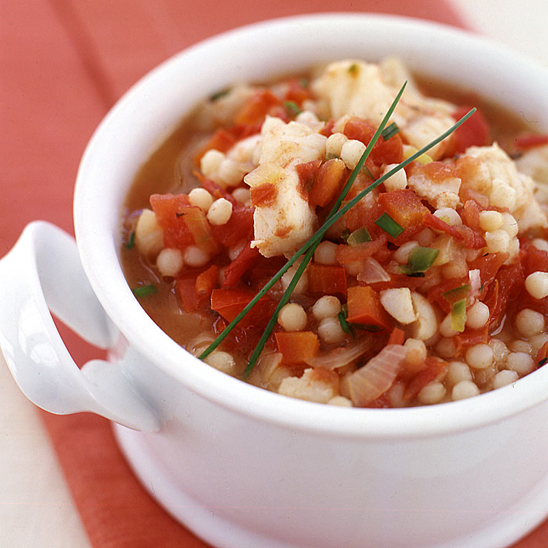 Photo of Chile-spiced red snapper and couscous stew by WW