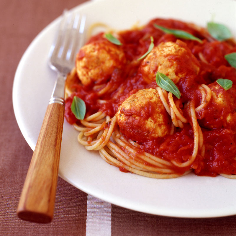 Photo of Whole Wheat Spaghetti With Turkey Meatballs by WW