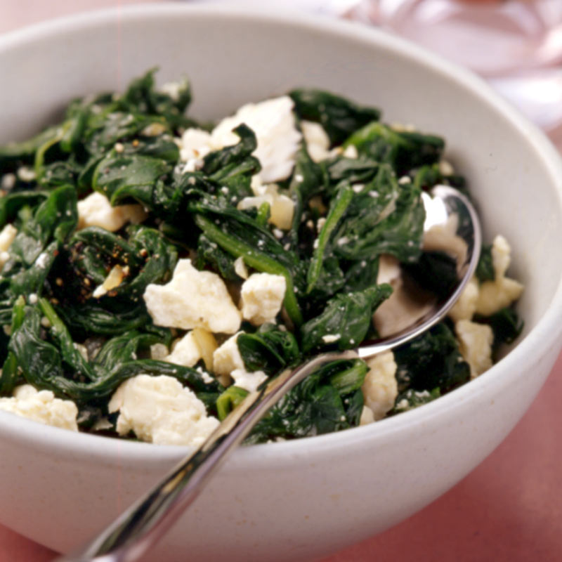 Photo of Spinach and Feta Saute by WW