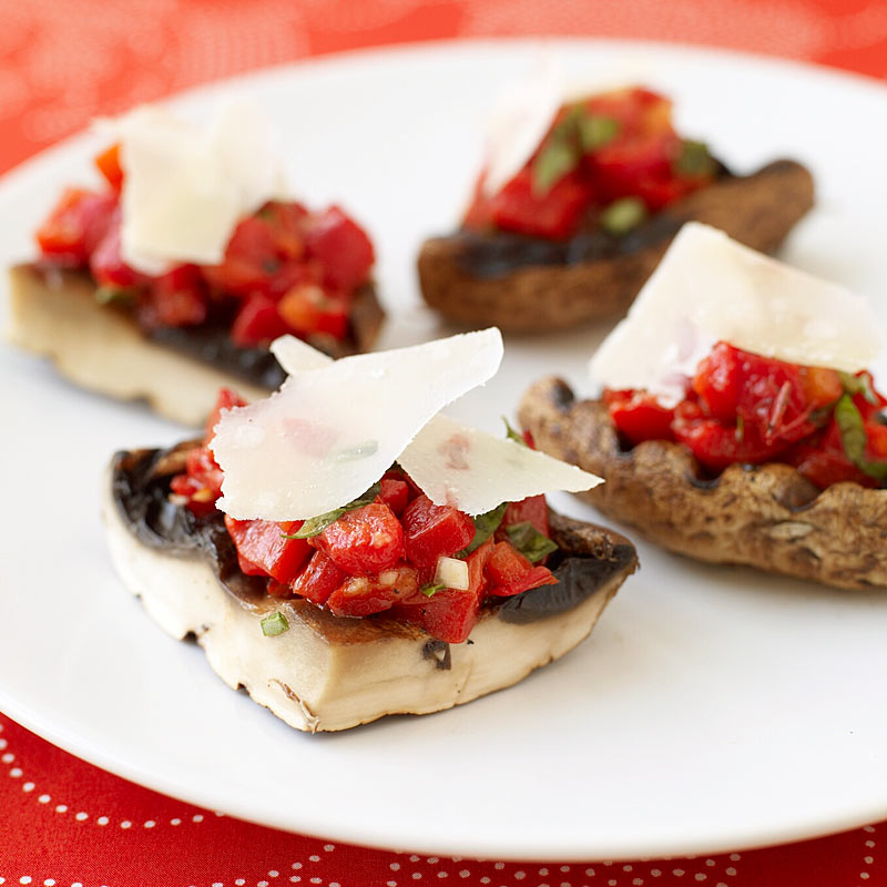 grilled stuffed portobello mushrooms  recipes  ww usa