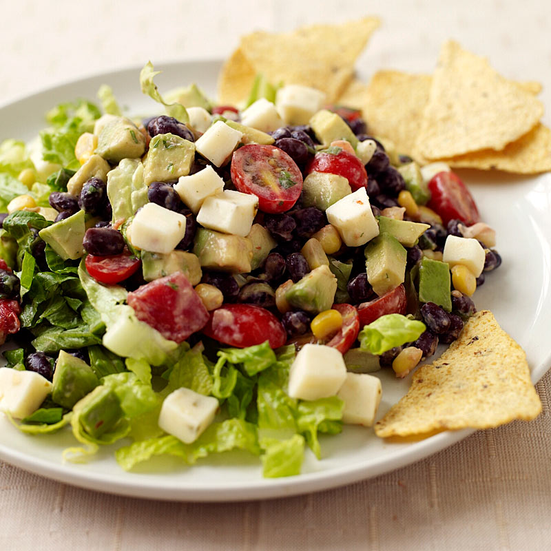 Photo of Tex-Mex Bean Salad with Creamy Salsa Dressing by WW