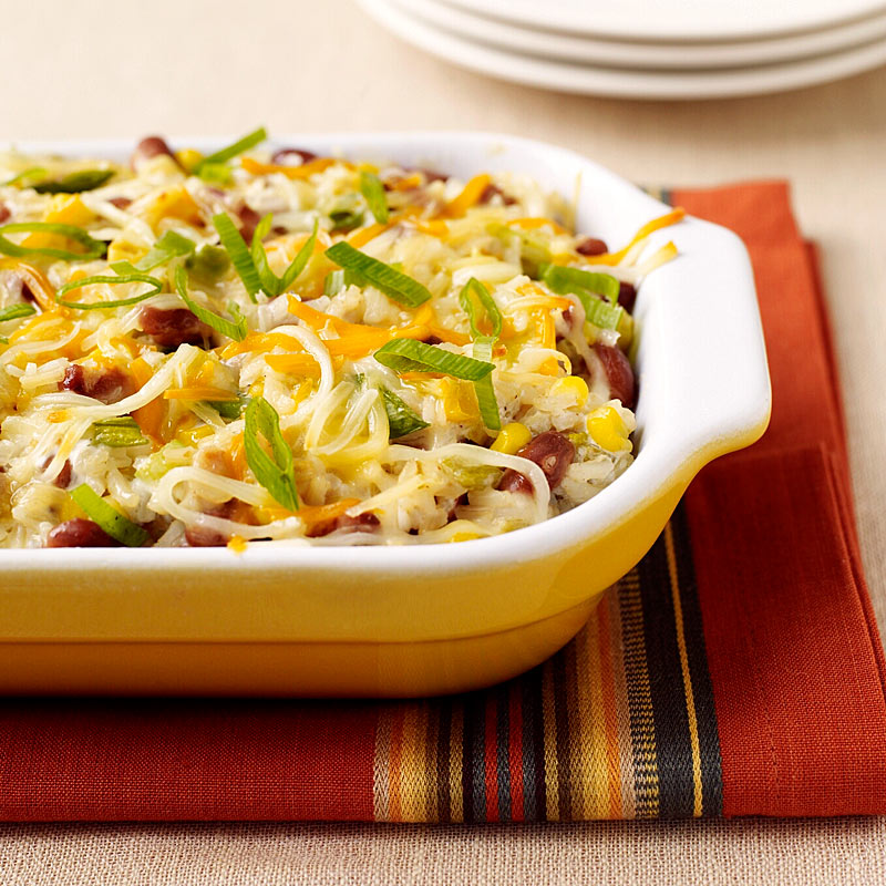 Photo of Tex-Mex Rice and Bean Casserole by WW
