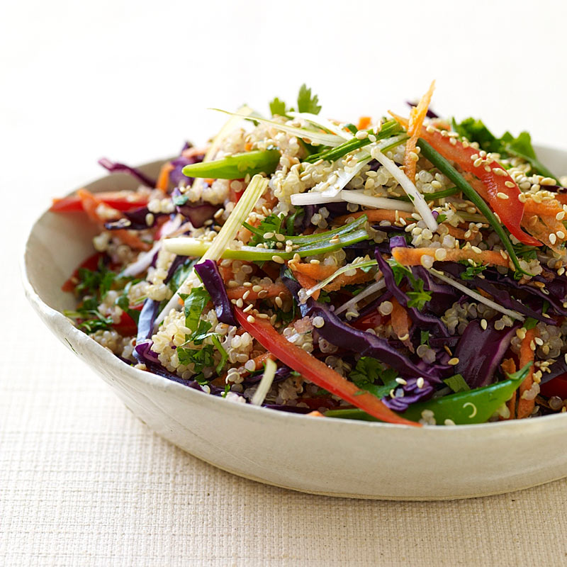 Photo of Asian-Flavored Quinoa Salad by WW