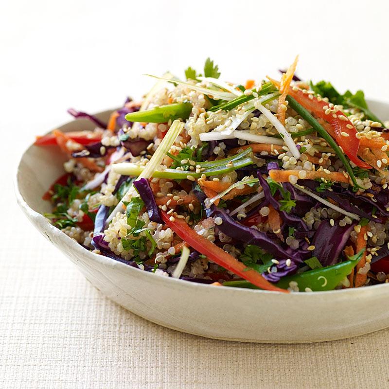 Asian-Flavored Quinoa Salad Weight Watchers