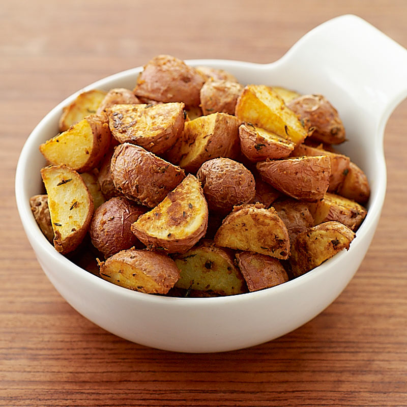 Dijon Roasted New Potatoes Recipes Ww Usa