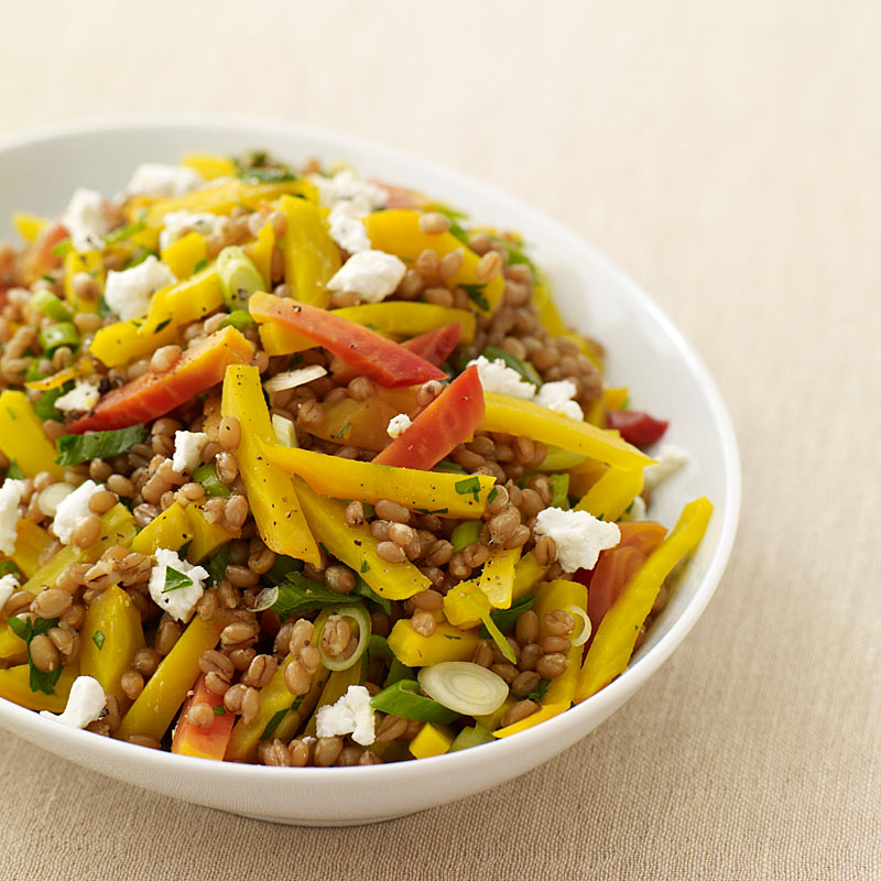 Photo of Roasted beet and wheat berry salad by WW
