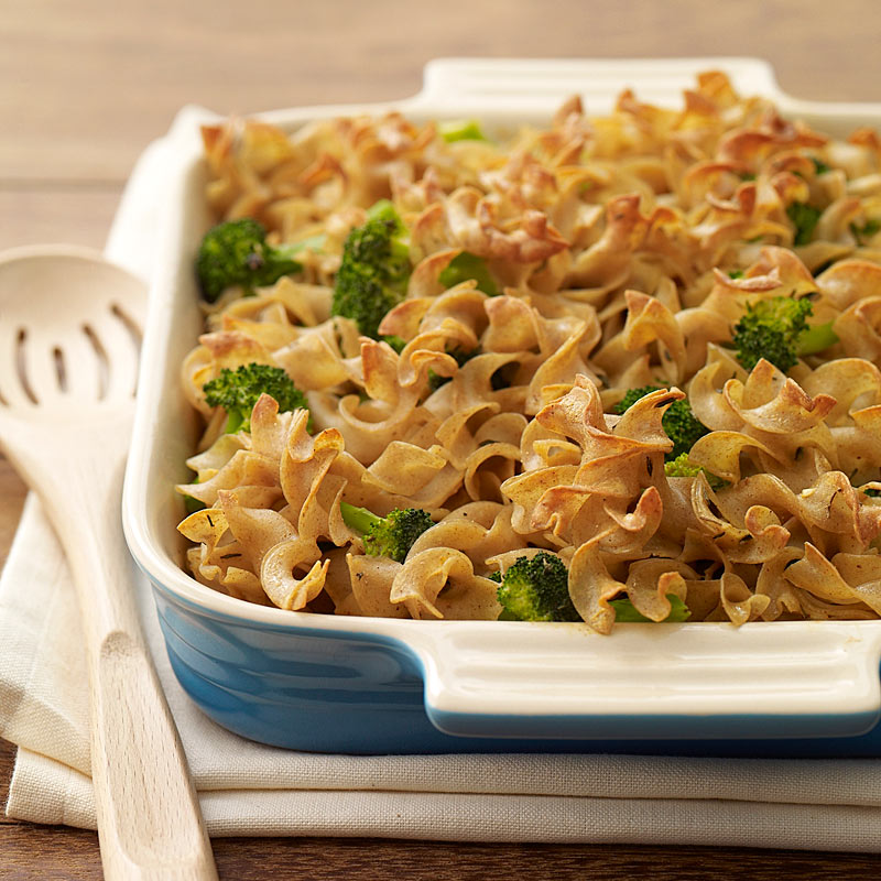 Photo of Whole Wheat Broccoli Noodle Kugel by WW