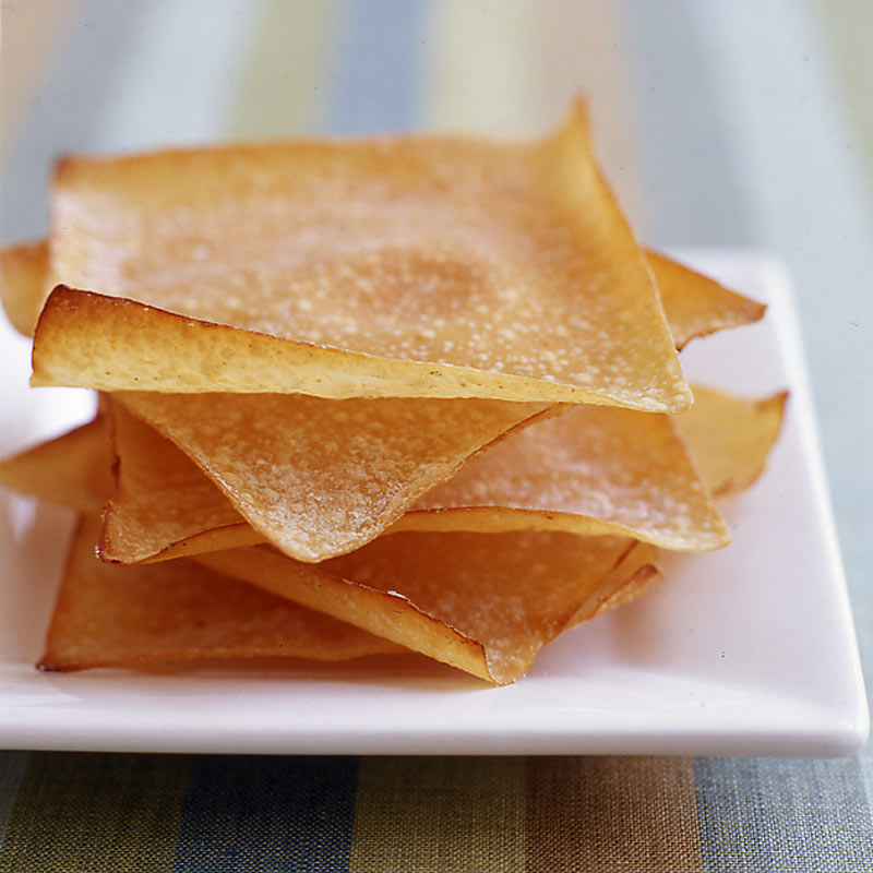 Photo of Baked ginger-soy wonton crisps by WW