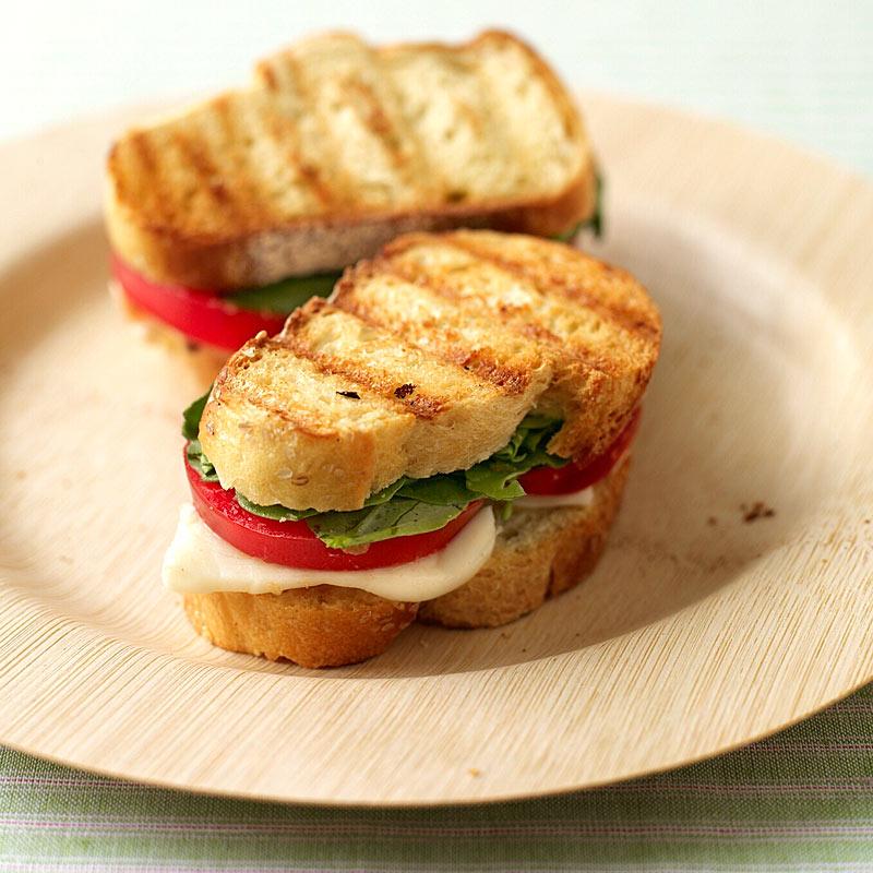 Photo of Fresh Mozzarella and Tomato Paninis by WW