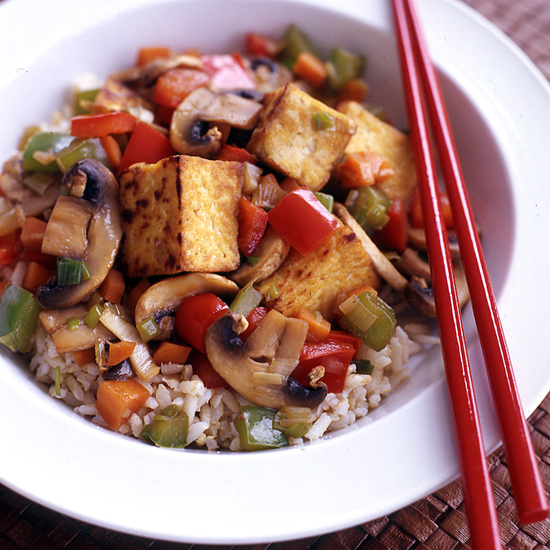 Photo of Tofu and Vegetable Stir-Fry by WW