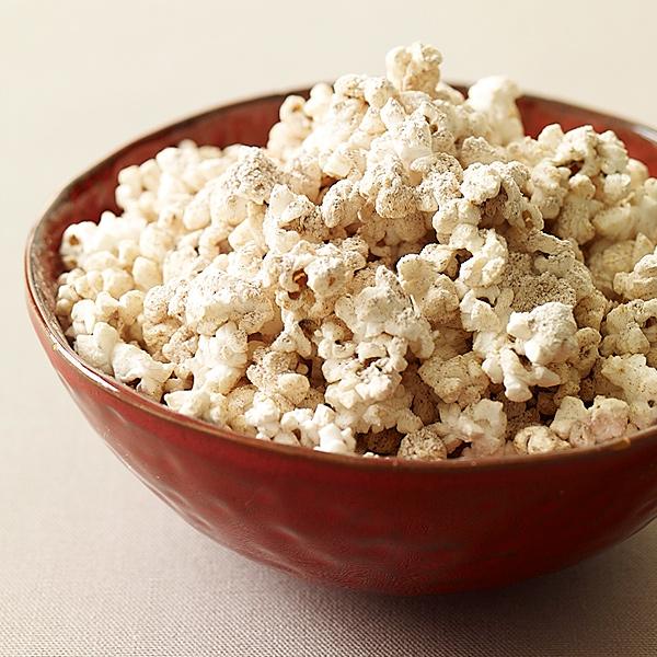 Photo of Cinnamon-spiced peanut dusted popcorn by WW