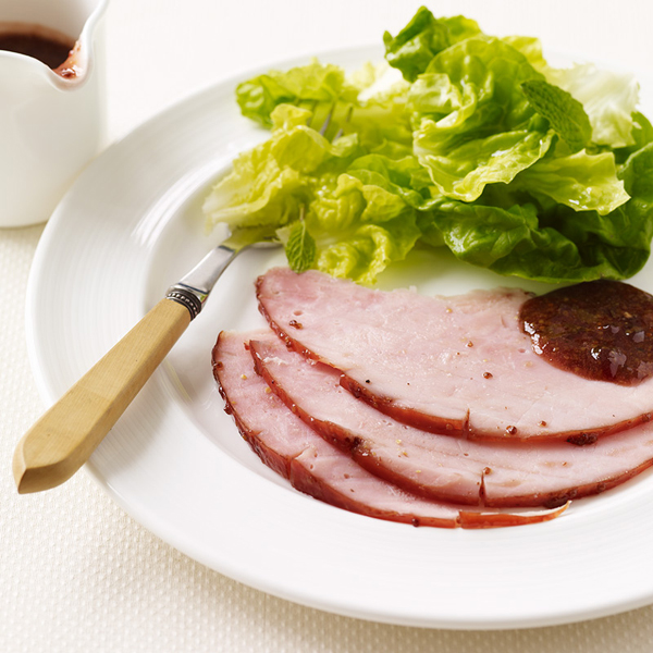 Photo of Raspberry-mustard glazed ham by WW