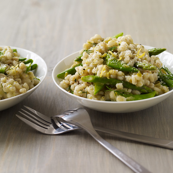 Photo of Spring vegetable and barley risotto by WW