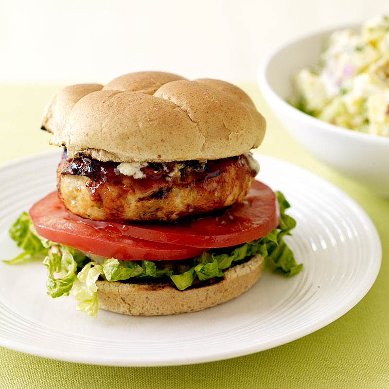 Photo of Blue cheese chicken burgers by WW
