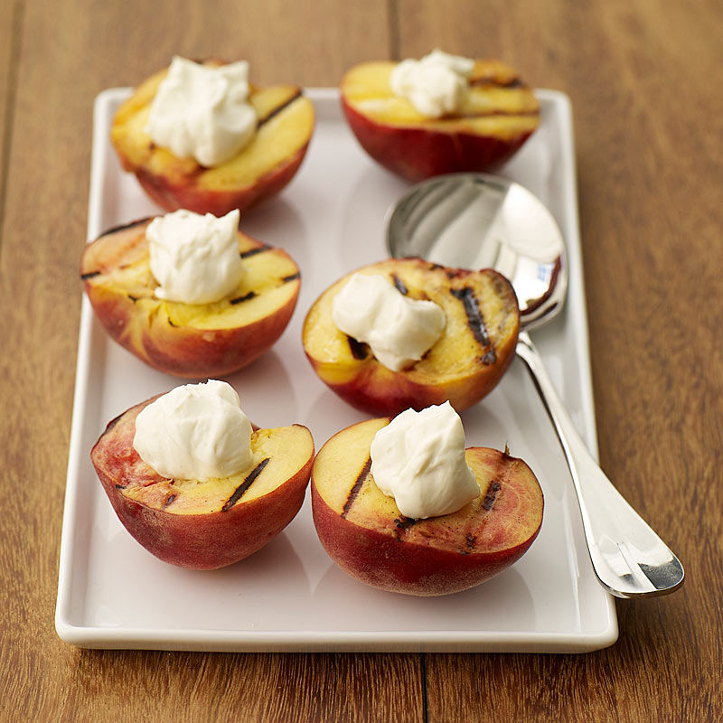 Photo of Grilled peaches by WW