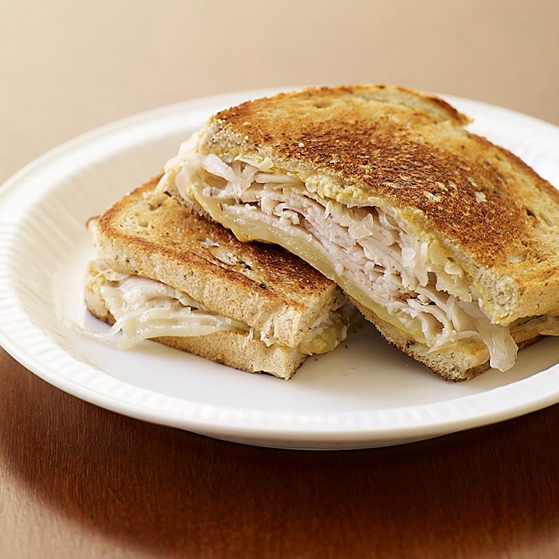 Photo of Turkey reuben sandwich by WW