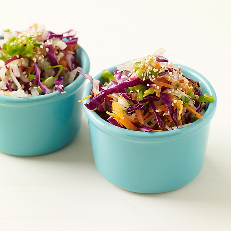 Photo of Asian-Style Cabbage-Carrot Slaw by WW