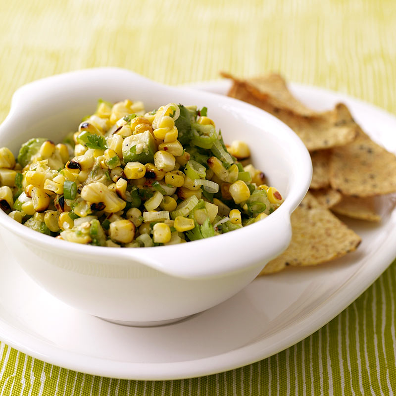 Grilled Corn and Avocado Salsa Weight Watchers