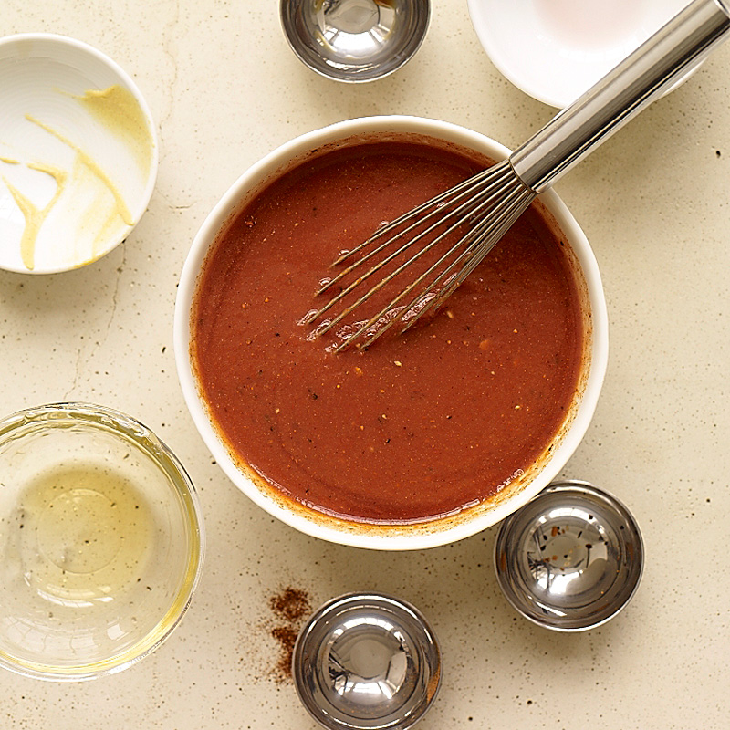 Photo of No-cook tomato barbecue sauce by WW