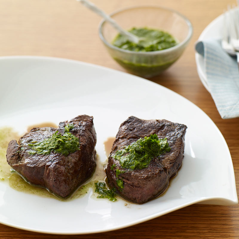 Photo of Beef Tenderloin with Fresh Herb Sauce by WW