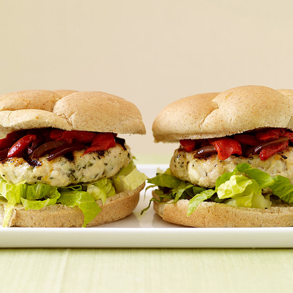 Paleo Chicken and Feta Burgers