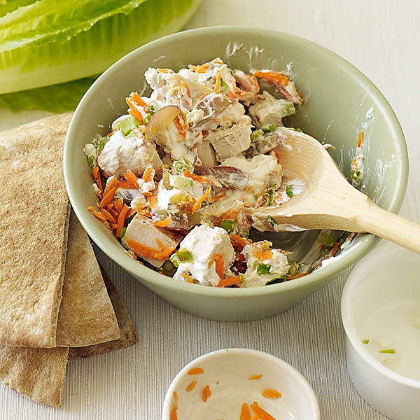 ... .com: Weight Watchers Recipe - Chicken Salad with Walnuts and Grapes
