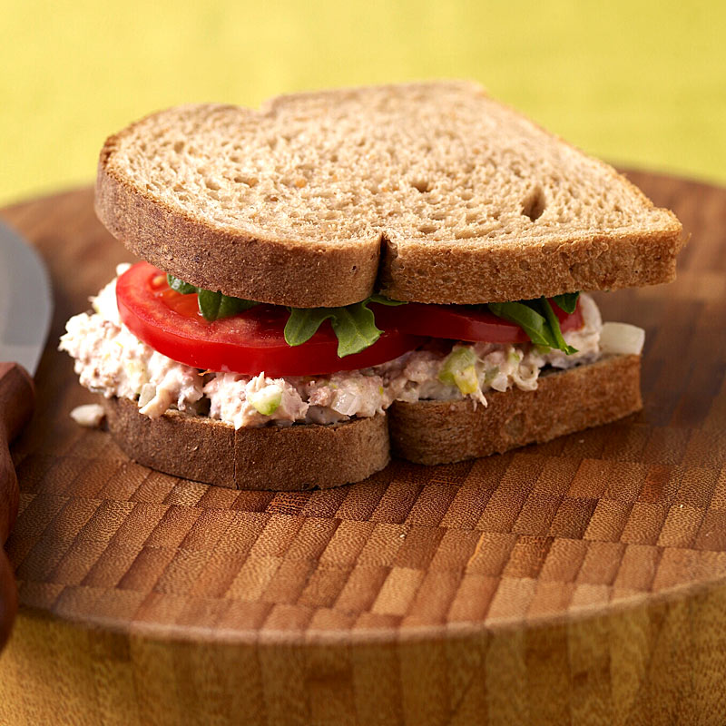 Photo of Tuna Salad on Whole Wheat by WW