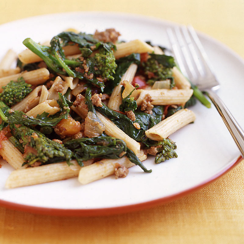 Photo of Pasta with broccoli rabe and Bolognese sauce by WW