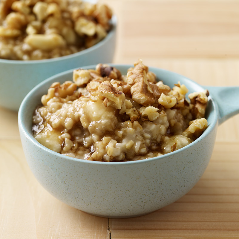 Photo of Banana-Walnut Steel Cut Oatmeal by WW