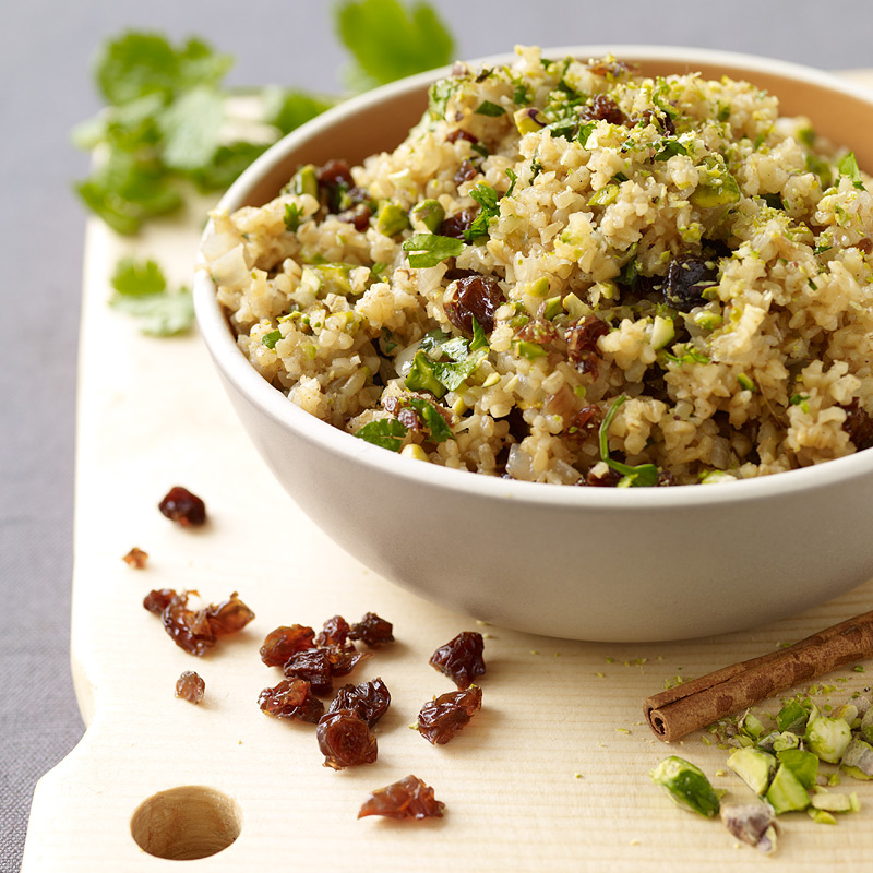 Photo of Bulgur pilaf with pistachios and raisins by WW