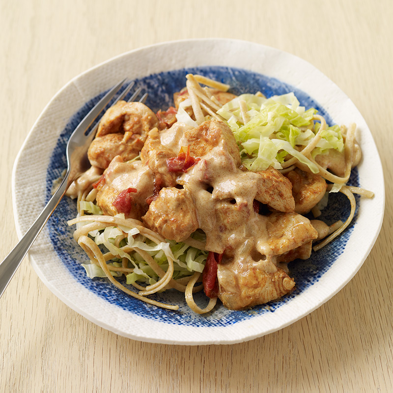 Photo of Chicken paprika with noodles by WW